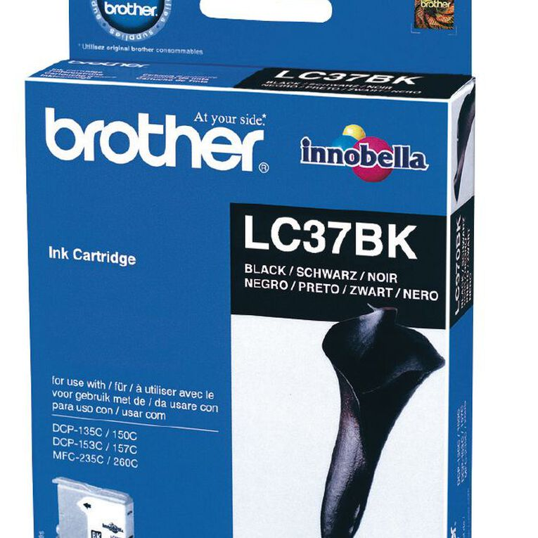 Brother Ink LC37 Black (350 Pages), , hi-res