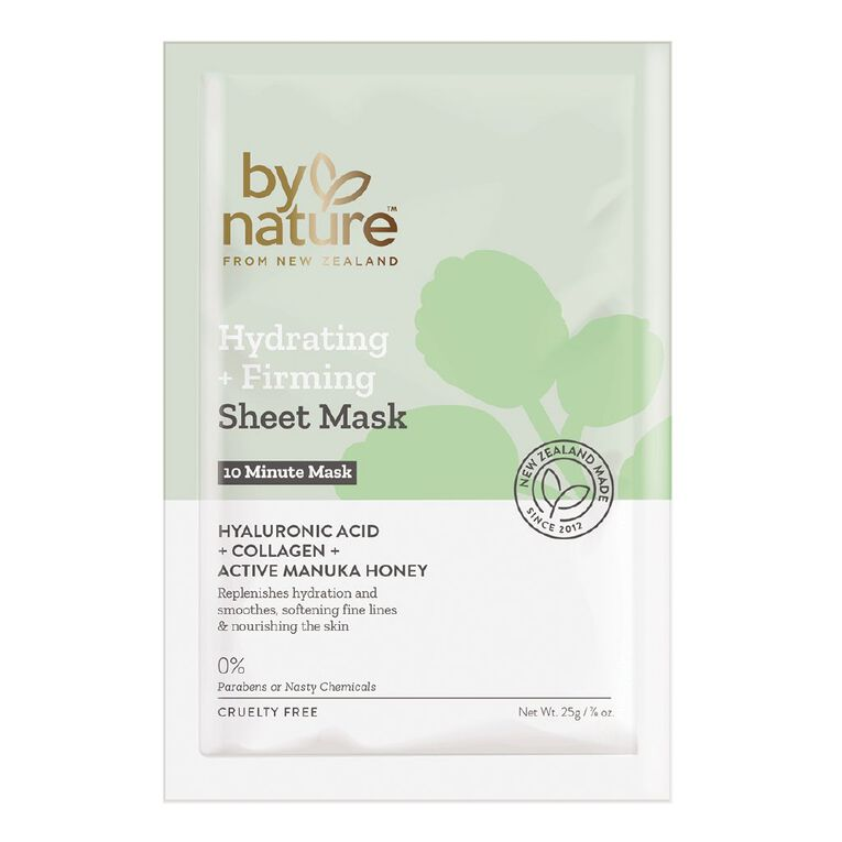 By Nature Nourishing & Refining 25g Face Mask 5 Pack, , hi-res