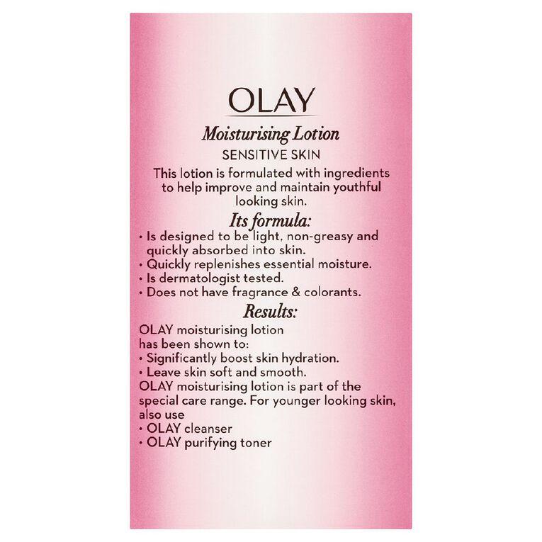 Olay Moisturising Lotion Sensitive 150ml, , hi-res