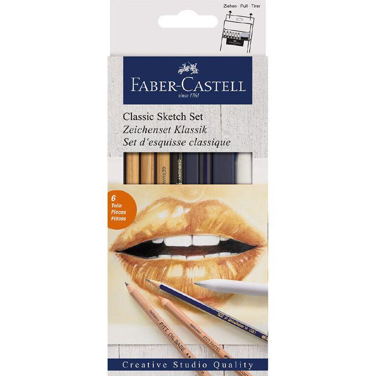 Faber-Castell Classic Sketch Set, , hi-res