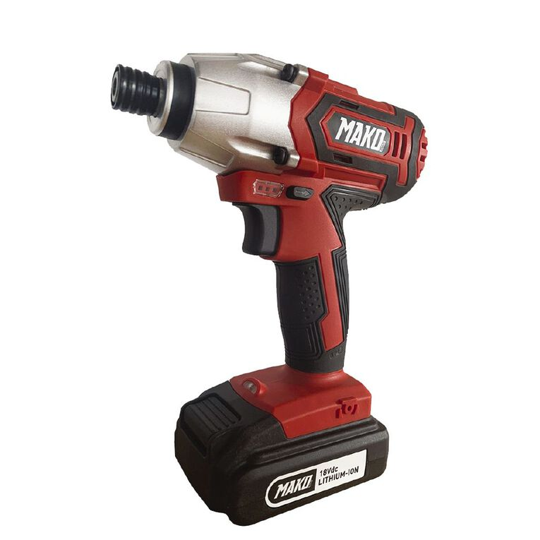 Mako 18v Impact Driver with 2.0ah Battery and Charger, , hi-res