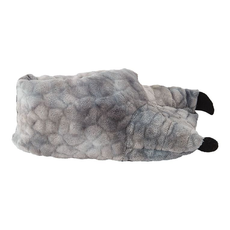 Young Original Kids' Novelty Claw Slippers, Grey, hi-res