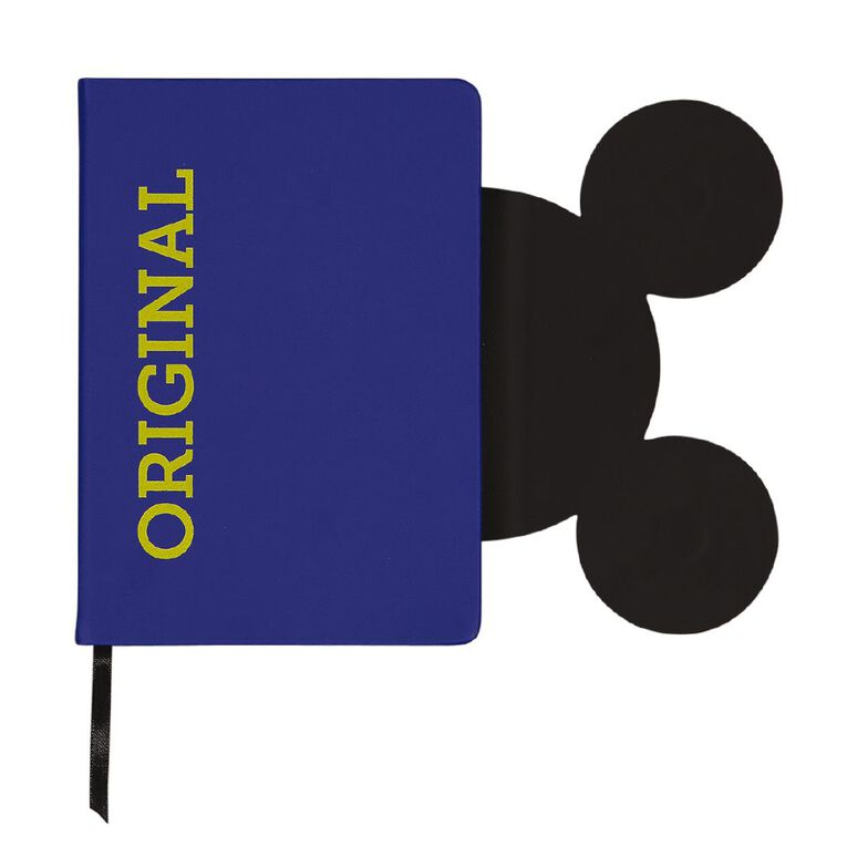 Mickey Mouse PU Notebook Shaped Closure With Magnets Blue A5, , hi-res