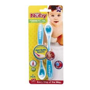 Nuby Hot Safe Spoons 2 Pack Assorted