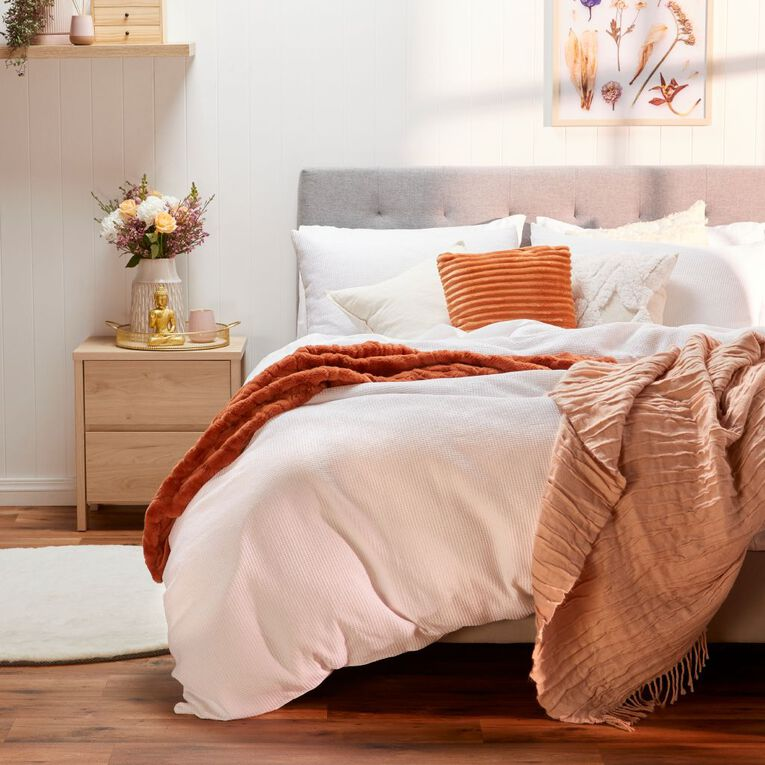 Living & Co Indiana Bed Frame Queen, , hi-res