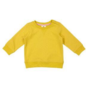 Young Original Baby Plain Patch Sweatshirt