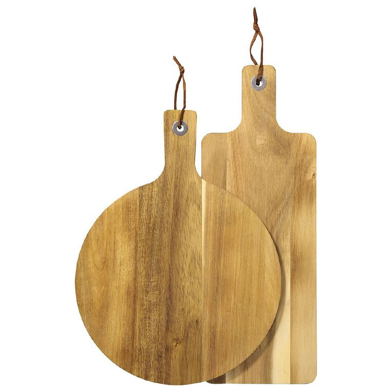 Living & Co Acacia Paddle Boards 2 Piece, , hi-res