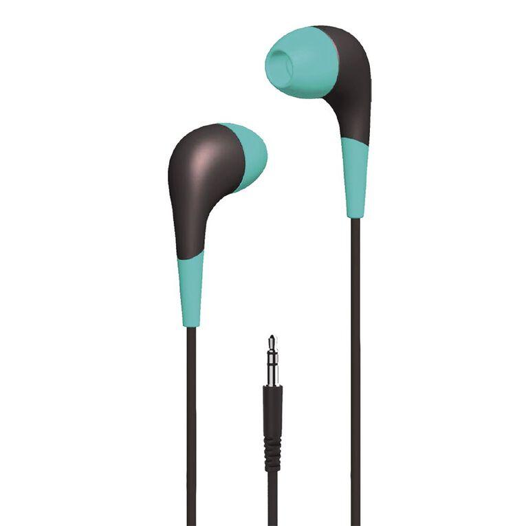 Tech.Inc In-Ear Earbuds Teal, , hi-res