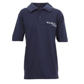 Schooltex Waimairi Short Sleeve Polo with Embroidery