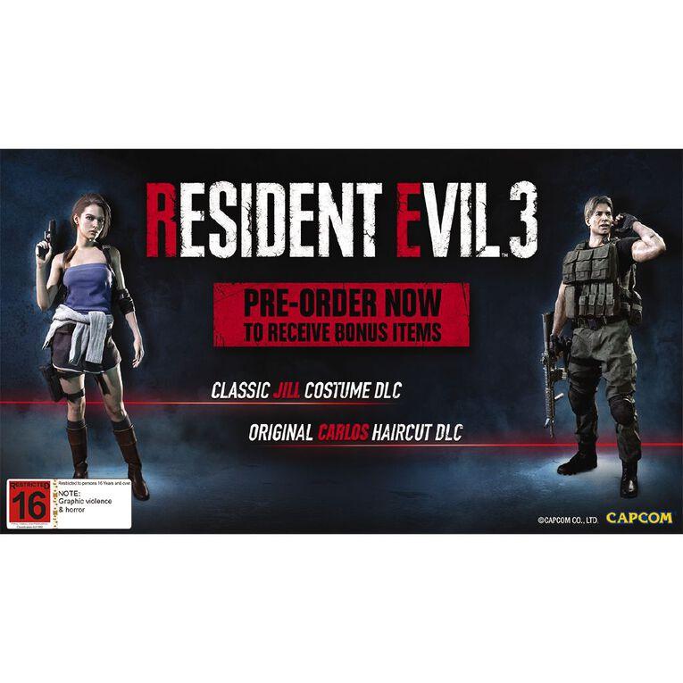PS4 Resident Evil 3, , hi-res