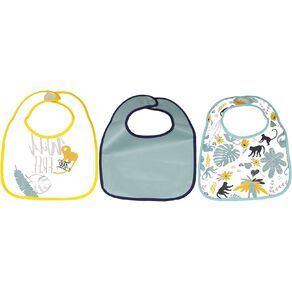 Babywise Bibs Assorted 3 Pack