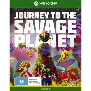 XboxOne Journey to the Savage Planet