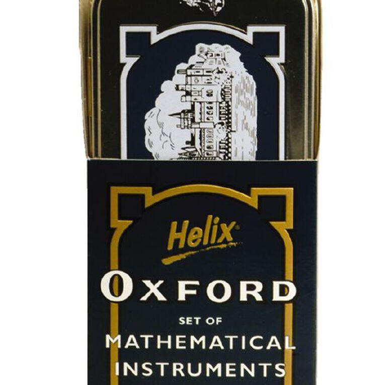 Helix Oxford Math Set 8 Piece Silver, , hi-res