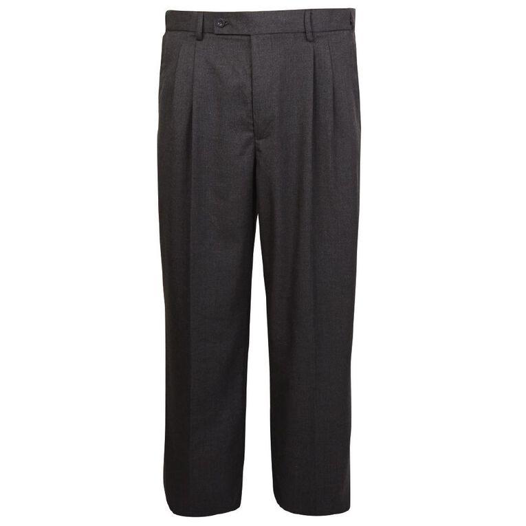Schooltex Flexe Melange Pants, Grey Dark, hi-res