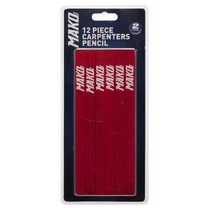 Mako Carpenters Pencil 12 Piece