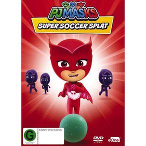 Pj Masks Super Soccer Splat DVD 1Disc
