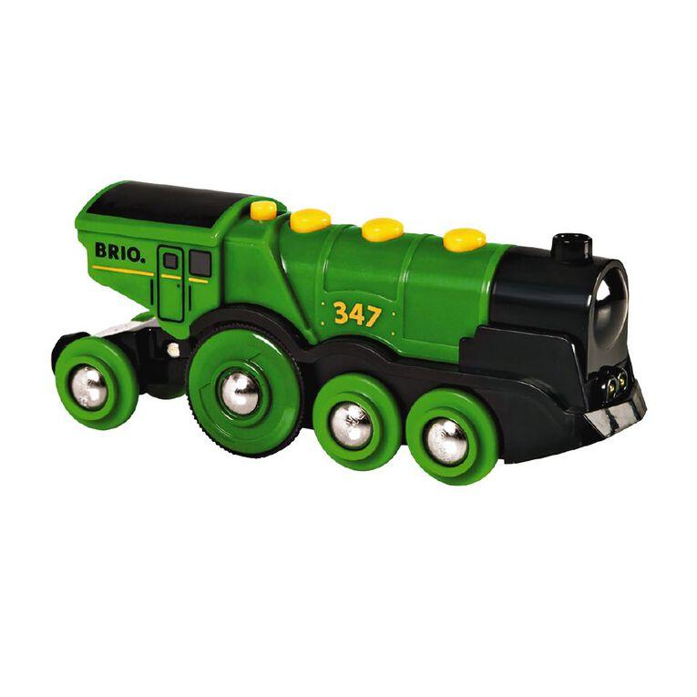 Brio Big Green Action Locomotive, , hi-res