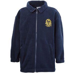 Schooltex Lake Brunner Zip-Thru Polar Fleece Jacket with Embroidery