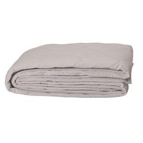 Living & Co Mattress Protector Mircrofibre Flat White