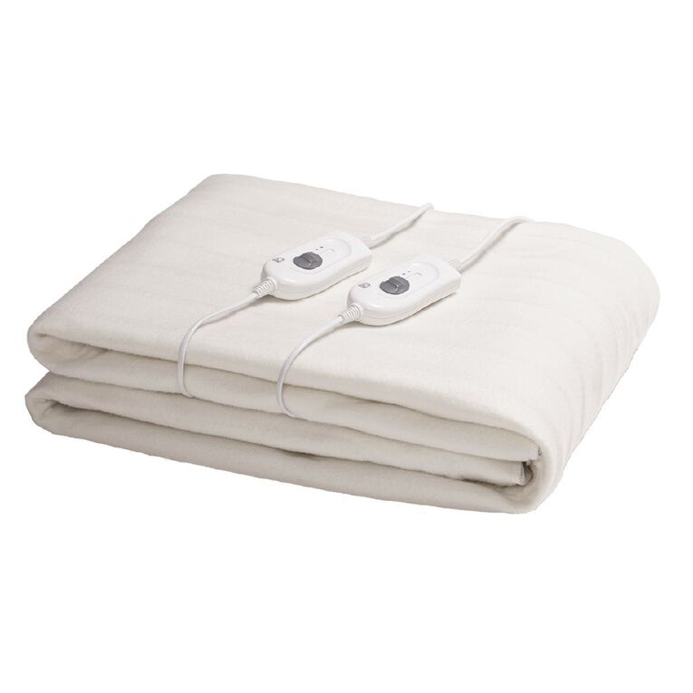 Living & Co Electric Blanket Fitted King 165 x 203 x 50cm, , hi-res