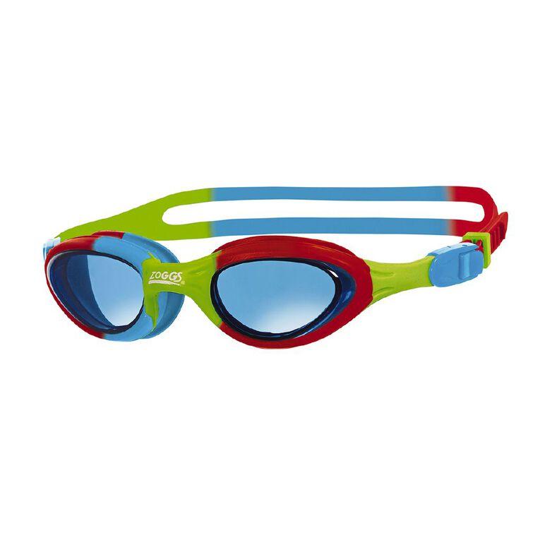 Zoggs Super Seal Junior Red/Blue/Green/Tint, , hi-res
