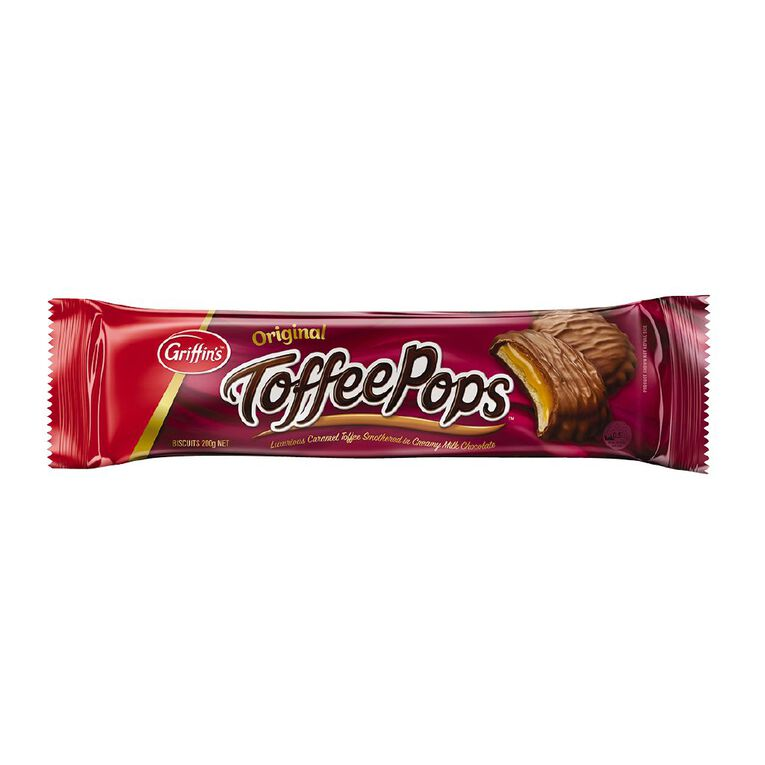 Griffin's Toffee Pop Biscuits 200g, , hi-res