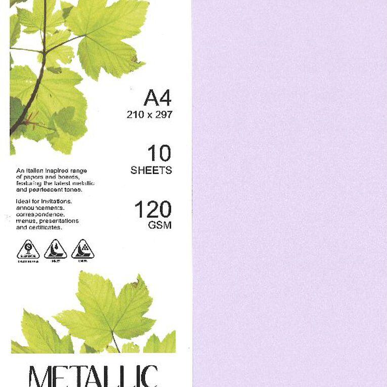 Direct Paper Metallic Paper 120gsm 10 Pack Kunzite A4, , hi-res