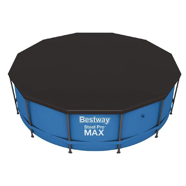 Bestway Steel Pro Pool Cover 12ft, , hi-res