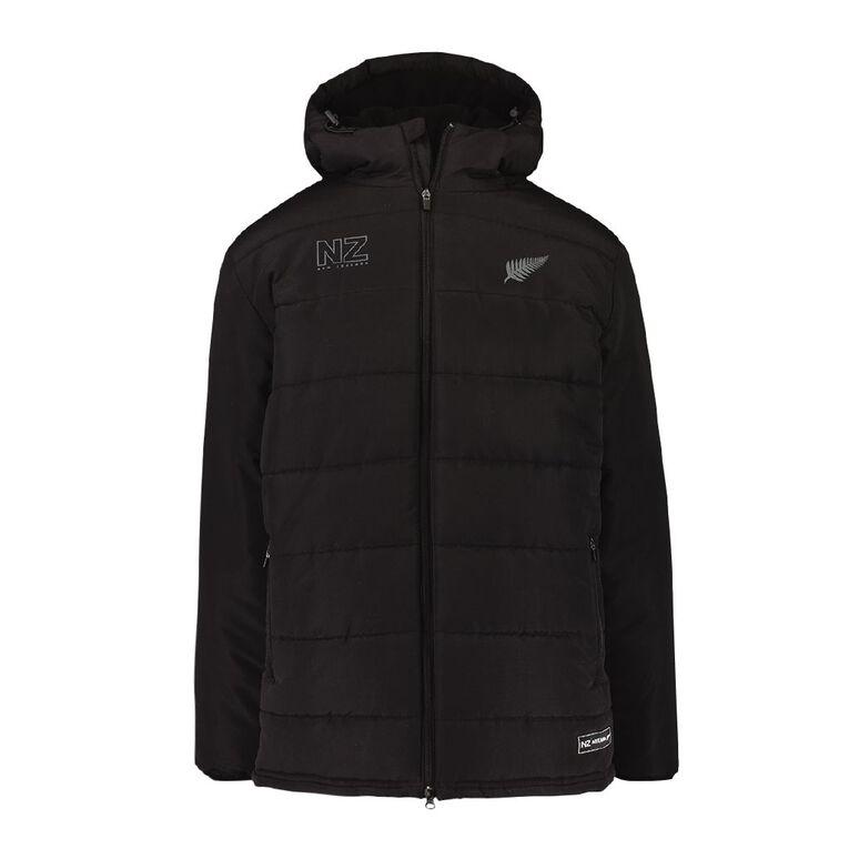 Active Intent Men's Supporter Stadium Puffer Jacket, Black, hi-res