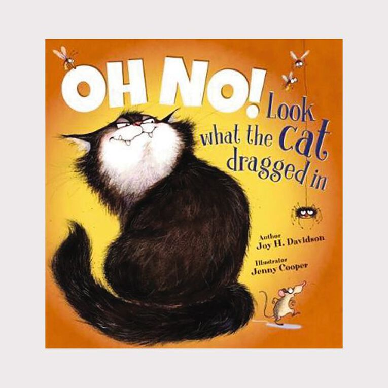 Oh No Look what the Cat Dragged In by Joy H Davidson, , hi-res image number null