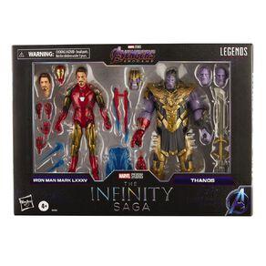 Marvel Legends Infinity Saga Ironman Mark 85 vs Thanos