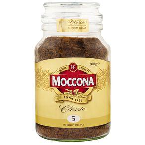 Moccona Classic Medium Roast Jar 200g