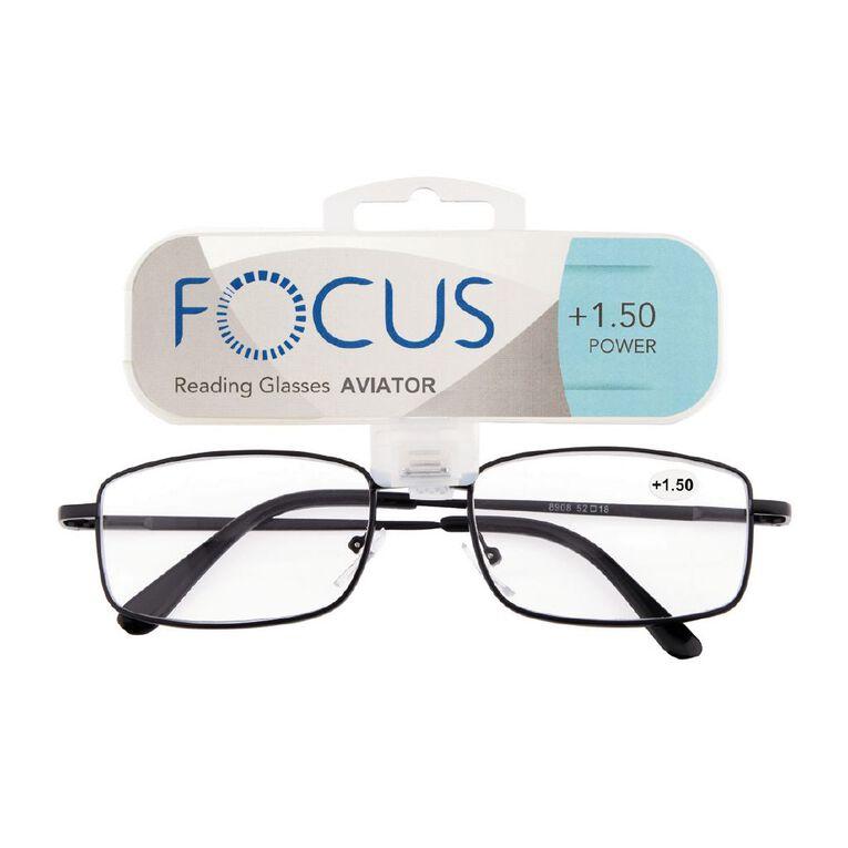 Focus Reading Glasses Aviator Power 1.50, , hi-res