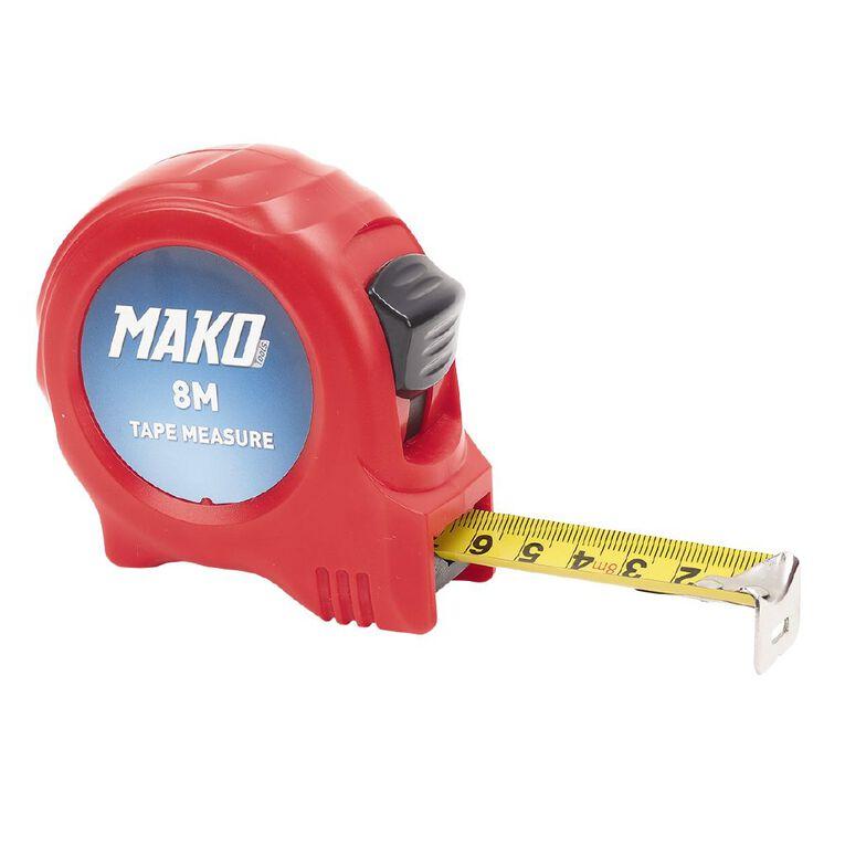 Mako Tape Measure 8m, , hi-res