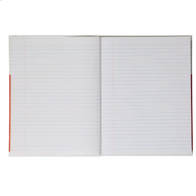 WS Lecture Book 2B4 7mm Ruled Hardcover 94 Leaf, , hi-res