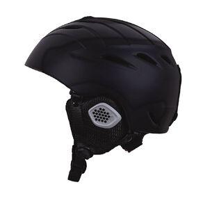 Active Intent Sports Snow Helmet Black Medium