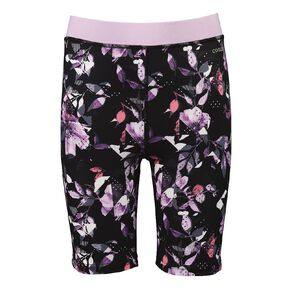 Active Intent Girls' All Over Printed Bike Shorts