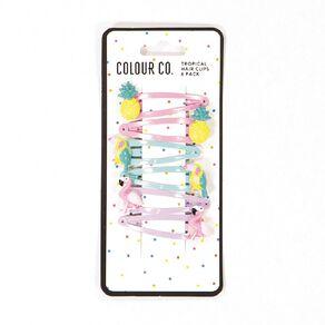 Colour Co. Tropical Hair Clips 6 Pack