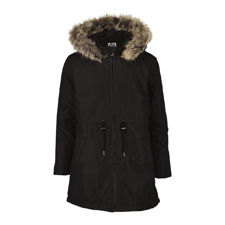 Young Original Parka Jacket, Black, hi-res