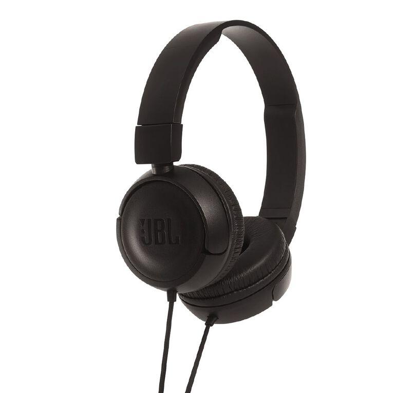 JBL T450 Wired Headphones Black, , hi-res
