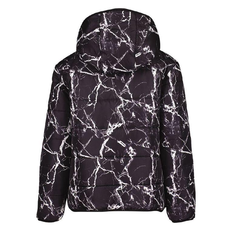 Young Original Reversible Puffer Jacket, Black, hi-res