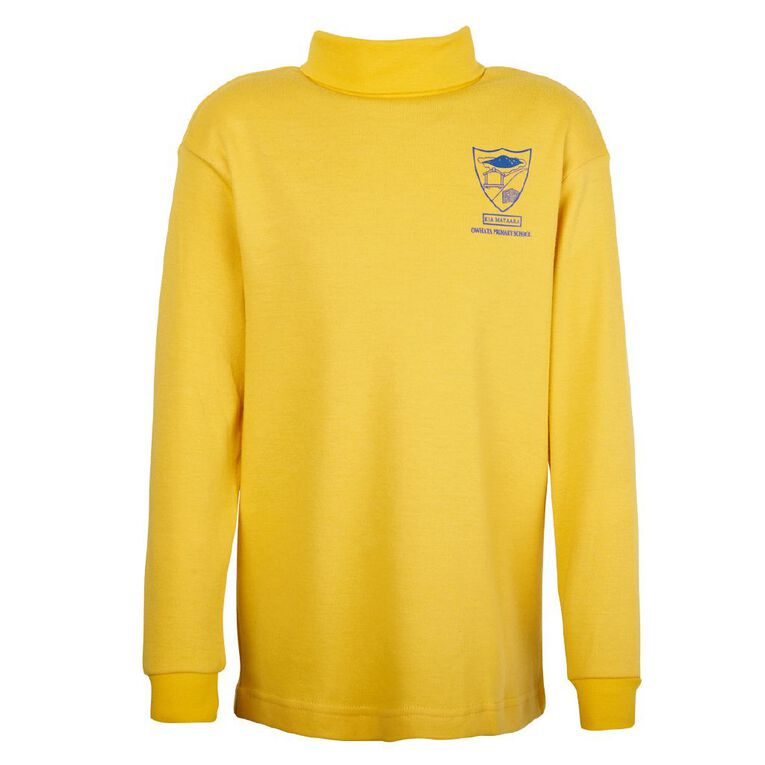 Schooltex Owhata Skivvy with Transfer, Gold, hi-res