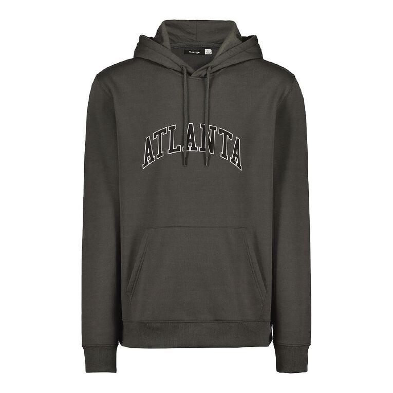 Garage Men's Hooded Fresh Sweatshirt, Slate, hi-res