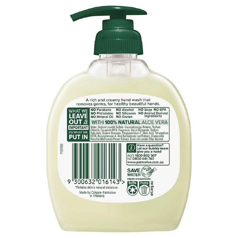 Palmolive Soft Wash Hand Wash Aloe Vera Pump 250ml, , hi-res