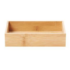 Living & Co Naturals Bamboo Small & Wide Deep Drawer Organiser