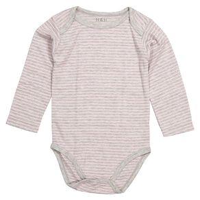 H&H Infants Polyester Viscose Thermal Bodysuit