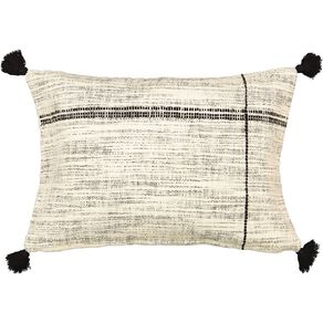 Living & Co Fleck Breakfast Cushion Natural 40cm x 60cm