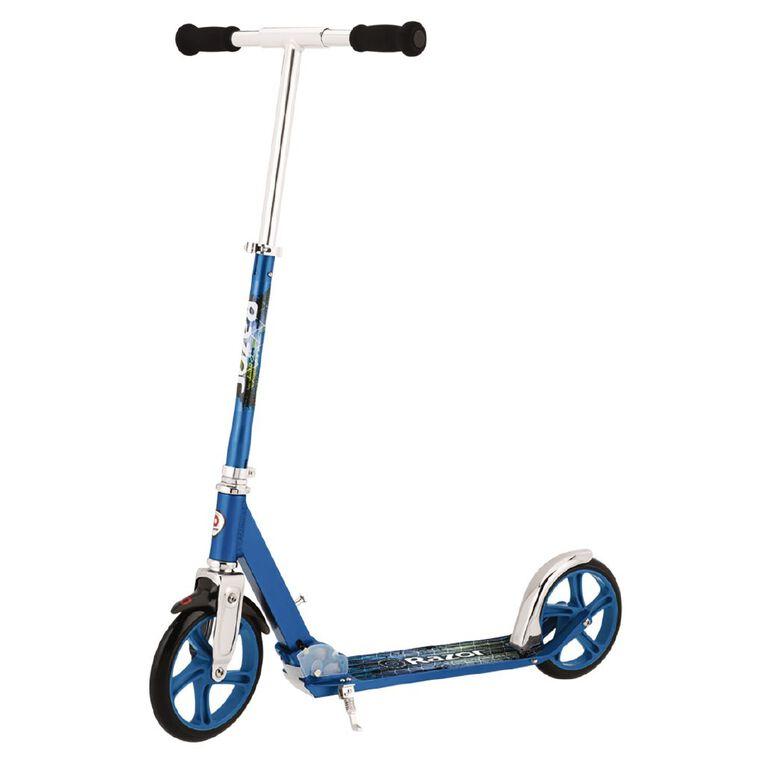 Razor A5 Lux Scooter Blue, , hi-res