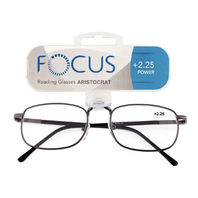 Focus Reading Glasses Aristocrat Power 2.25, , hi-res