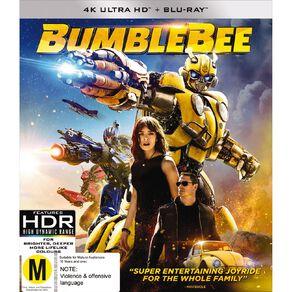 Bumblebee 4K Blu-ray 2Disc